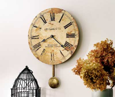 Click to View All Antique-Looking Clocks