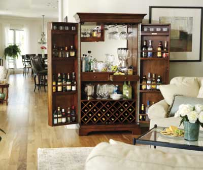 Click to View All Bars and Bar Cabinet Furniture