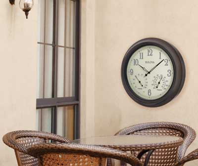Click to View All Outdoor Clocks