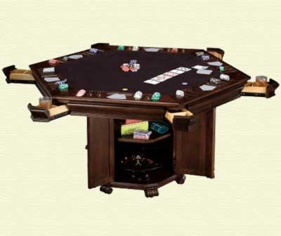 Click to View All Poker Table Furniture
