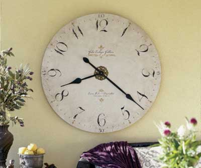 Click to View All Wall Clocks