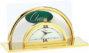 Portsmouth Clock And Business Card Holder - RCA5022