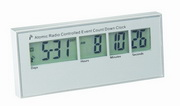 Yorkshire Desk Countdown Clock - Atomic Radio Controlled - RCA5046