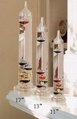 Euclid 13in Galileo Thermometer - UCN5212