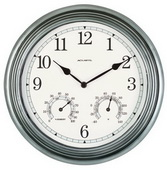 Georgetown 14in Wall Clock (Indoor or Outdoor) - UCN5239