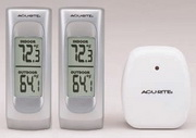 Derbyshire Wireless Indoor/Outdoor Thermometer Combo Pack - UCN5158