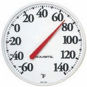 Merseyside Dial Thermometer (12.5in Basic) (Indoor or Outdoor) - UCN5374