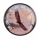 Laila 12.5in Eagle Thermometer (Indoor or Outdoor) - UCN5335