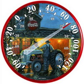 Tarantino Shop Talk Coke Thermometer (Indoor or Outdoor) - UCN5641
