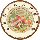 Milford 12.5in Berries Thermometer (Indoor or Outdoor) - UCN5395