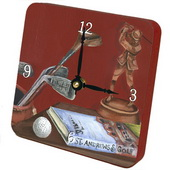 PLS Eduardo Golf Desktop Clock - PLS5408