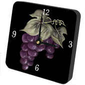 PLS Elijah Grapes Desktop Clock - PLS5405