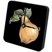 PLS Hannah Pear Desktop Clock - PLS5228