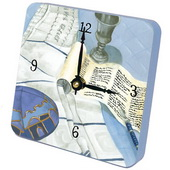 PLS  His Bar Mitzvah Desktop Clock - PLS5393