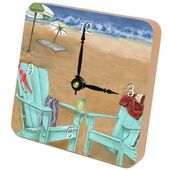 PLS Jacob Skinny Dipping Desktop Clock - PLS5312