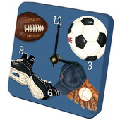 PLS Gabriella Little Athlete Desktop Clock - PLS5246