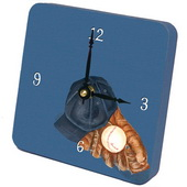 PLS Benjamin Baseball Desktop Clock - PLS5372