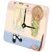 PLS Francisco Closet Desktop Clock - PLS5252