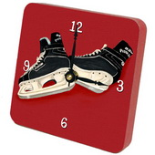 PLS Esmeralda Hockey Desktop Clock - PLS5387