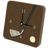 PLS Edgar Golf Club Desktop Clock - PLS5411