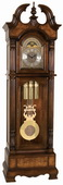 Ridgeway Kensingham Triple Chiming Grandfather Clock (Made in USA) - CRW3131