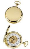 Charles Hubert Classic Pocket Watch 17 Jewel Mechanical - DCH5194