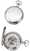 Charles Hubert Classic Pocket Watch 17 Jewel Mechanical - DCH5191