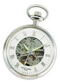 Charles Hubert Classic Pocket Watch 17 Jewel Mechanical - DCH5257
