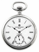 Charles Hubert Classic Pocket Watch 17 Jewel Mechanical - DCH5056