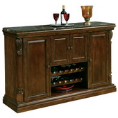 Howard Miller Niagara Deluxe Rustic Cherry Wooden Wine Console - CHM1326
