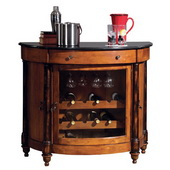 Howard Miller Merlot Valley Wine Bar Console - CHM1388