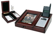Isabella Desk Organizer W/Calculator - RCA5186