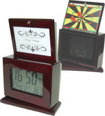 Cumbria Lcd Clock And Photo Frame Alarm Clock - RCA5224