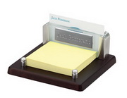 Railroad Card & Post-It Holder - RCA5346