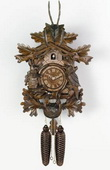 25in Hunter Style & Live Animals German Black Forest Cuckoo Clock 8 Day Traditional - NVC6176