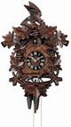 21in Fox & Grapes & Aesop's Fable German Black Forest Cuckoo Clock 8 Day Traditional - NYC1347