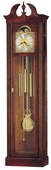 Howard Miller Chateau Splendid Chiming Traditional Grandfather Clock Cherry (Made in USA)