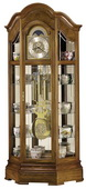 Howard Miller Impressive Triple Chiming Traditional Grandfather Clock Oak (Made in USA) - CHM1064