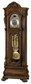 Howard Miller Hamlin Dashing Triple Chiming Grandfather Clock Cherry (Made in USA)