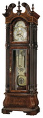 Howard Miller J H Miller II Triple Chiming Grandfather Clock Tubular Chime (Made in USA)