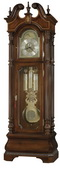 Howard Miller Eisenhower Deluxe Triple Chiming Presidential Grandfather Clock (Made in USA)-CHM1032