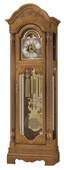 Howard Miller Kinsley Splendor Chiming Traditional Grandfather Clock Golden Oak (Made in USA)