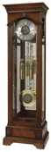 Howard Miller CHM2974 Charming Grandfather Clock in Hampton Cherry (Made in USA)