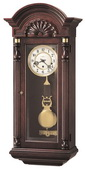 Howard Miller CHM1358 Deluxe Triple Chiming Keywound Wall Clock (Made in USA)