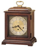 Howard Miller CHM1558 Deluxe Triple Chiming Key Wound Mantel Clock (Made in USA)