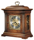 Howard Miller CHM1432 Deluxe Triple Chiming Key Wound Mantel Clock (Made in USA)