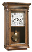 Howard Miller CHM1556 Deluxe Chiming Keywound Wall Clock (Made in USA)