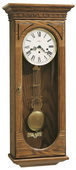 Howard Miller CHM1424 Deluxe Chiming Keywound Wall Clock (Made in USA)