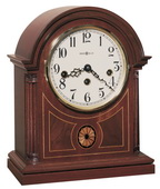 Howard Miller Barrister Deluxe Chiming Key Wound Mantel Clock (Made in USA) - CHM1704