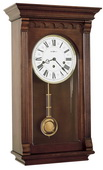 Howard Miller CHM1498 Deluxe Chiming Keywound Wall Clock (Made in USA)